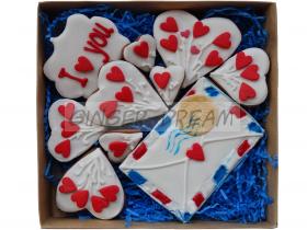 | Валентинки | Сладкие подарки Наборы пряников «Я тебя люблю»